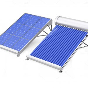 Solar Water Heater with Solar Panel
